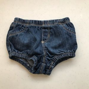 5/$25 OLD NAVY gender neutral diaper cover jeans